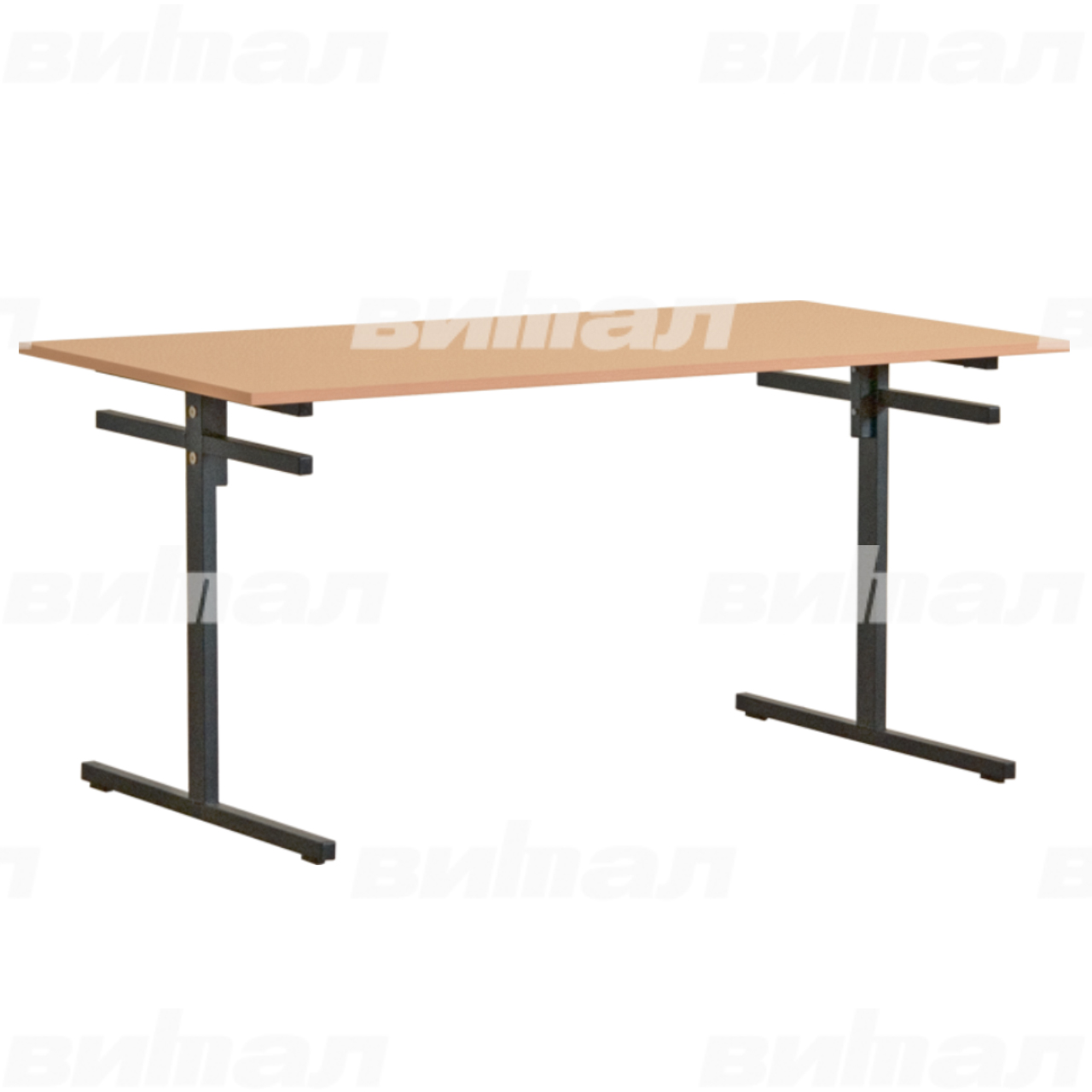 Стол для столовой 6-местный для скамеек (гр. 5,6)