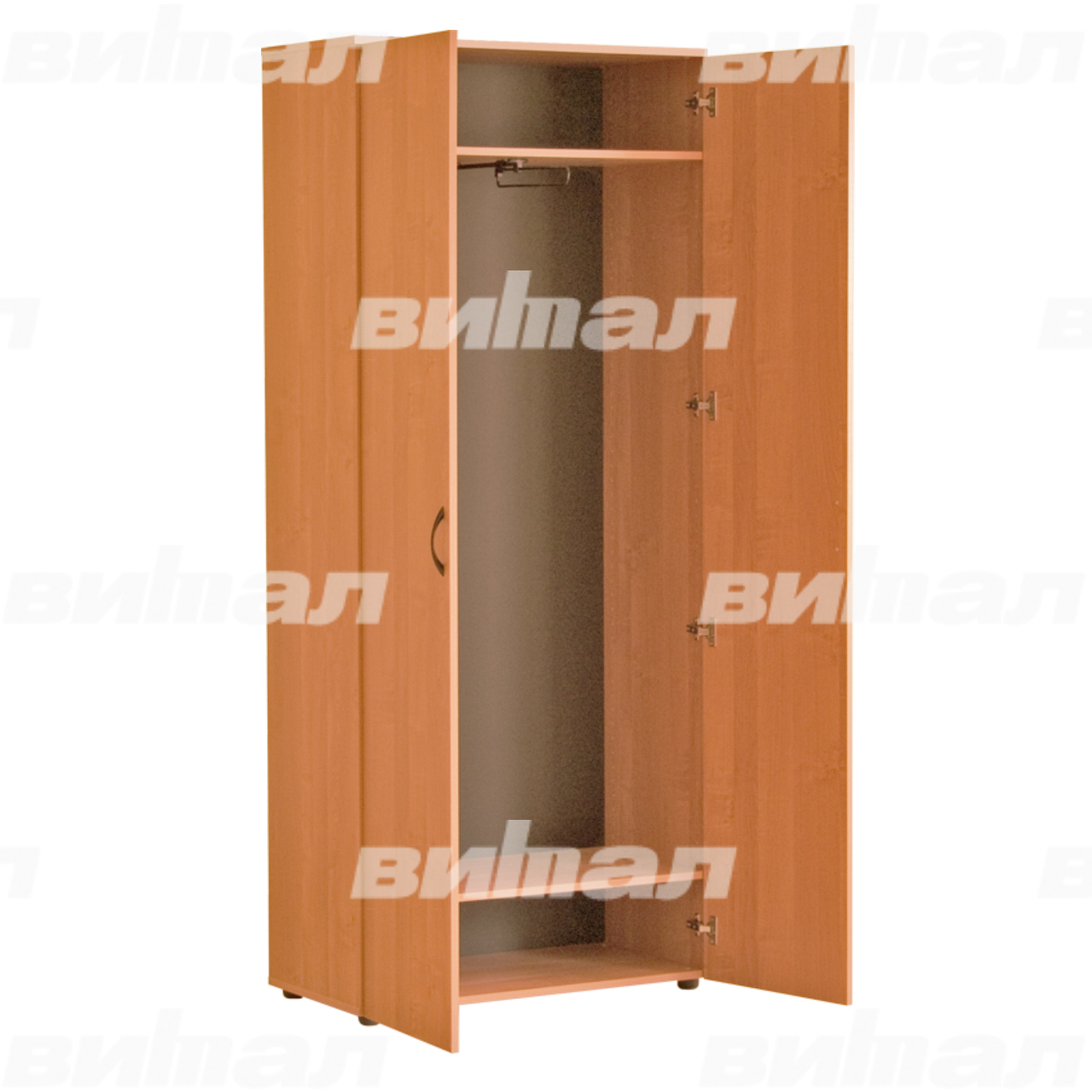 Шкаф для одежды «Директор» 45 Бук-бавария Меламин
