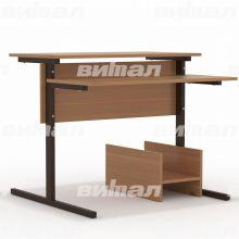 Стол компьютерный на м/к (квадратная труба)