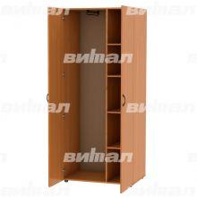 Шкаф для одежды комбинированный с доп. полками
