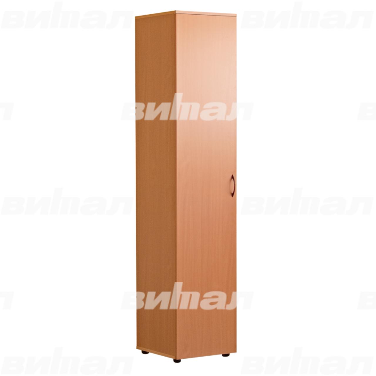 Шкаф для документов «Директор» узкий закрытый Бук-бавария Меламин