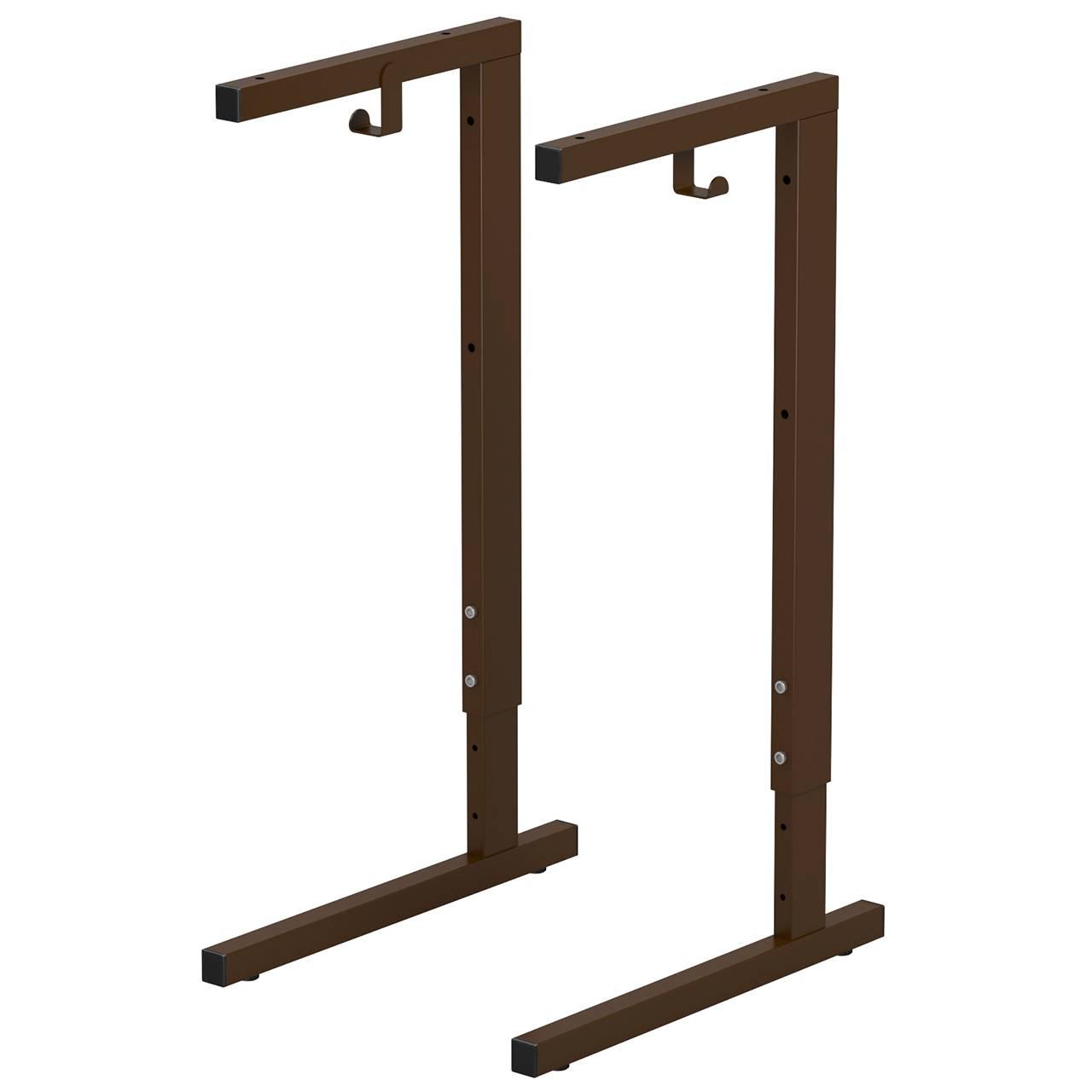 Металлокаркас стола ученического (гр. 3-5, 4-6) коричневый 4-6