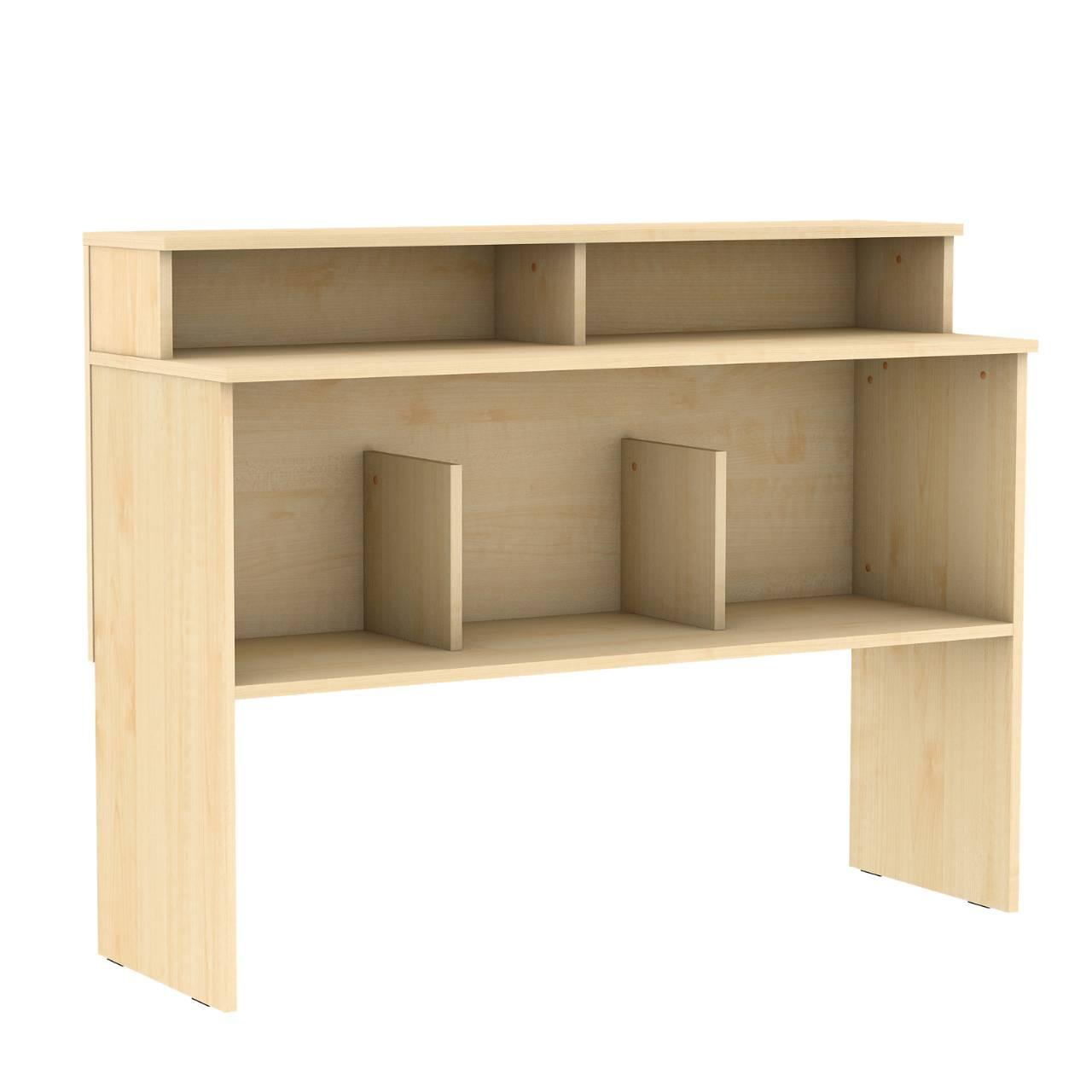 Стол барьер библиотечный Клен Меламин