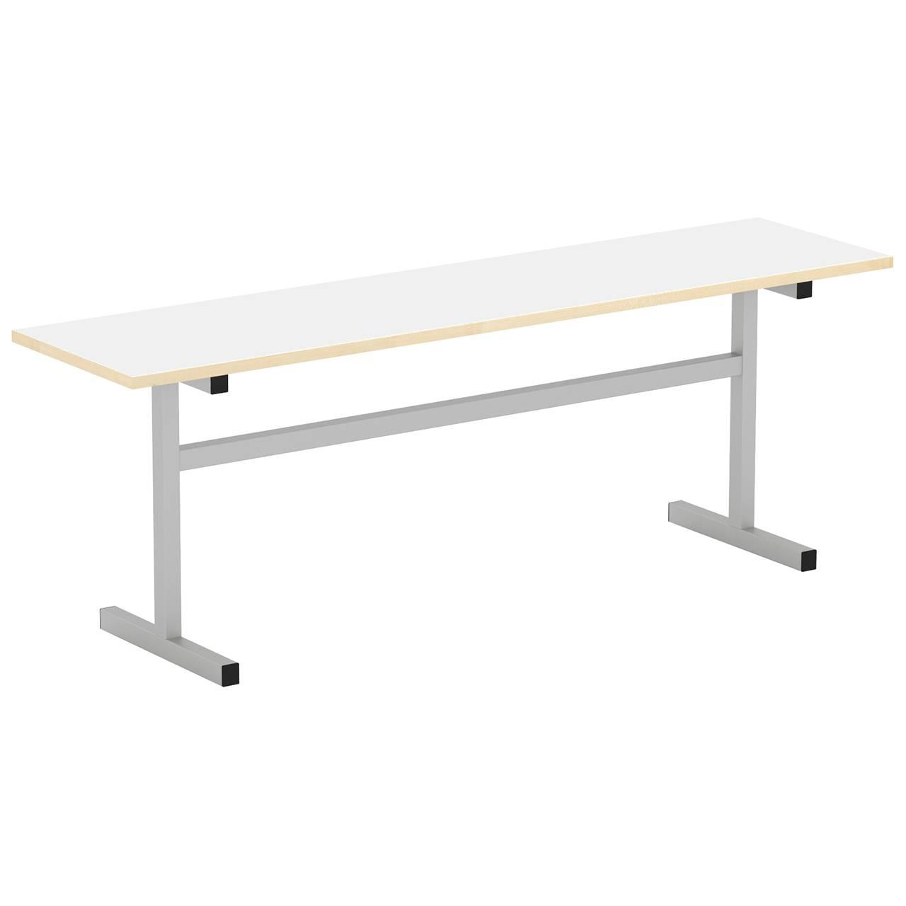 Скамейка 2-местная (гр. 5,6) серый Белый 6 Пластик