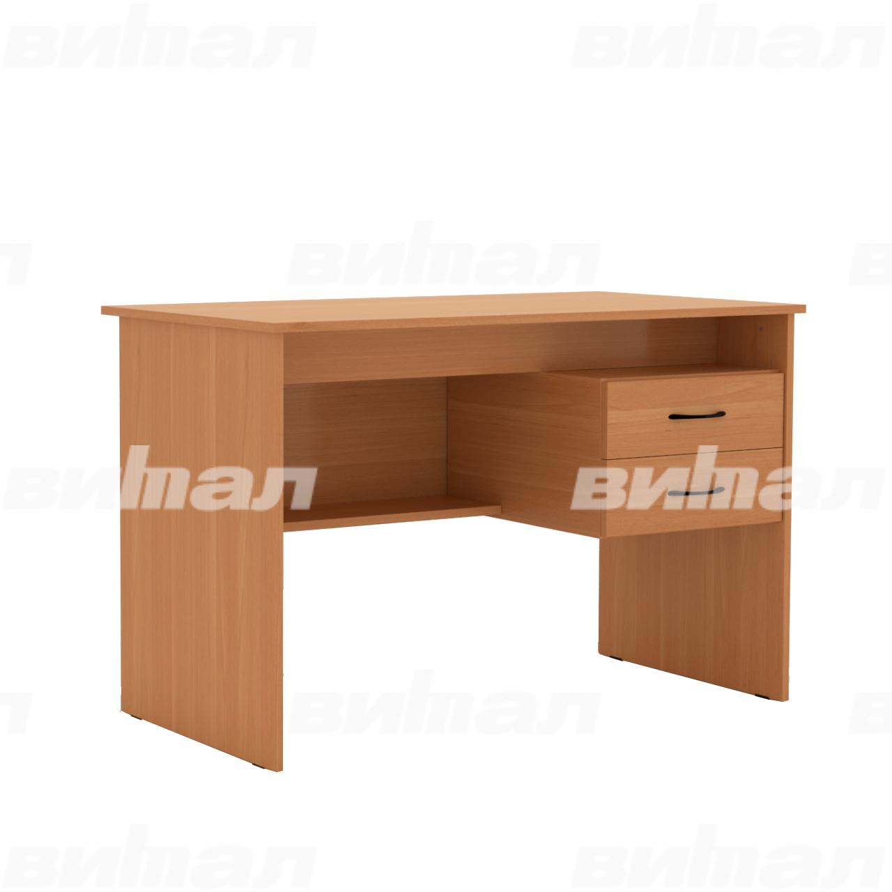 Стол с подвесной тумбой (для преподавателя)