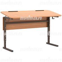 Стол 2-местный регулир. высота и наклон столешницы 0-10° (гр 2-4, 3-5, 4-6 или 5-7)