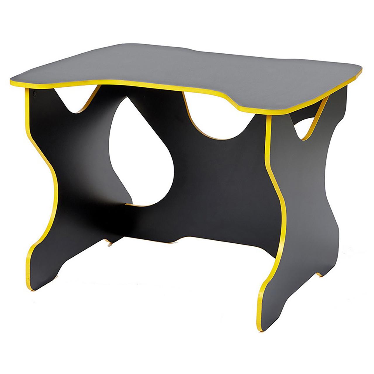 Компьютерный стол Ивент Жёлтый/Черный