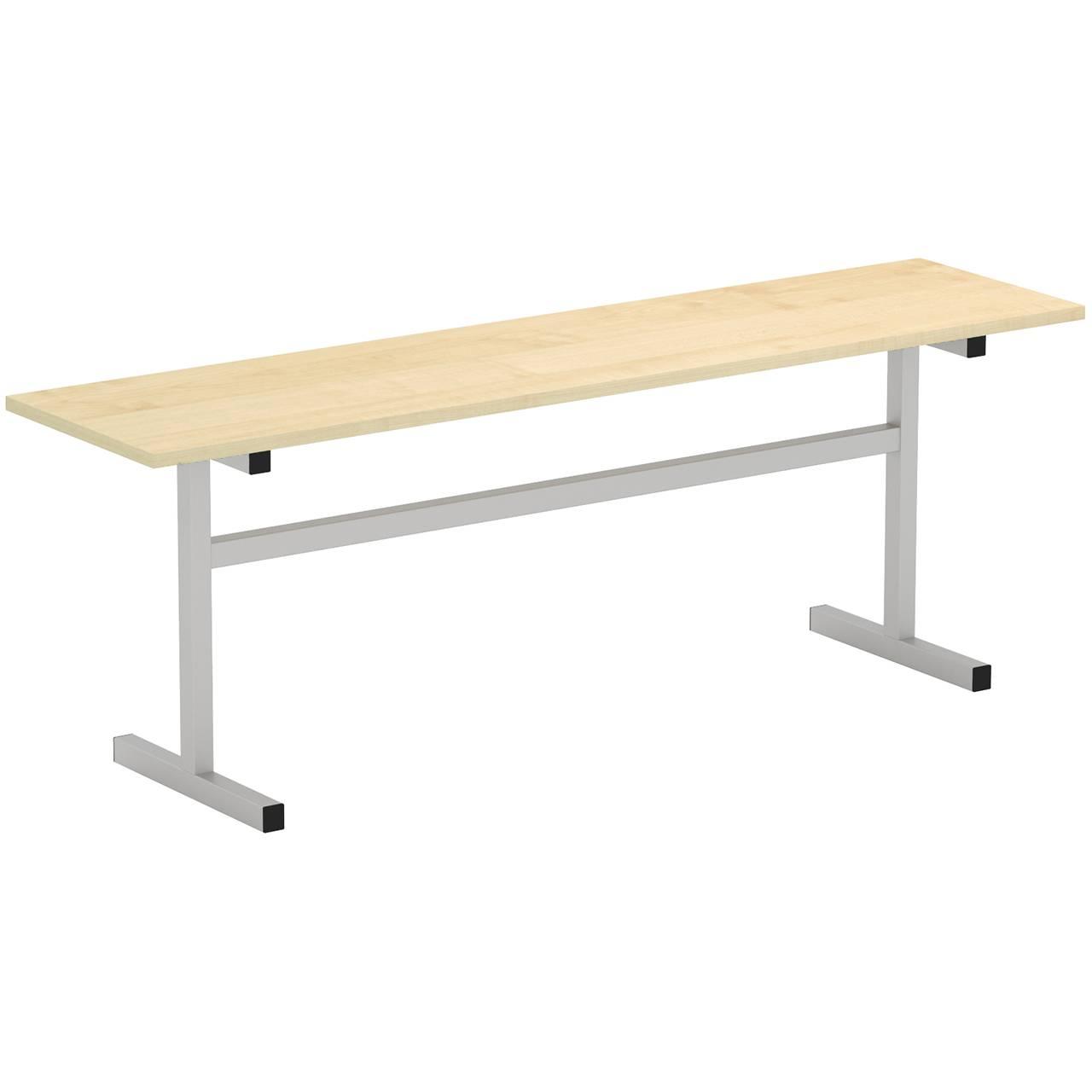 Скамейка 2-местная (гр. 5,6) серый Клен 6 Пластик