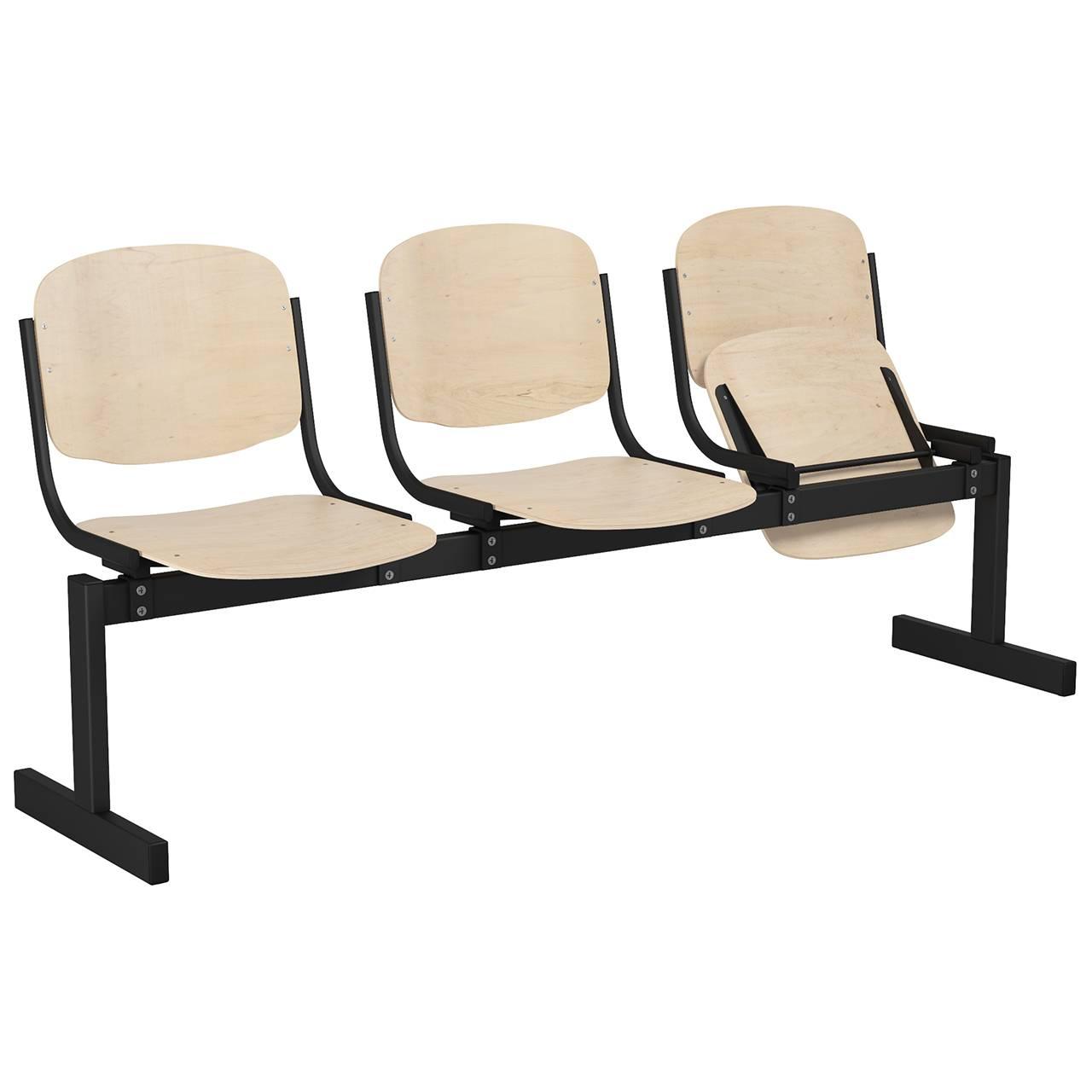 3-местный, откидывающиеся сиденья
