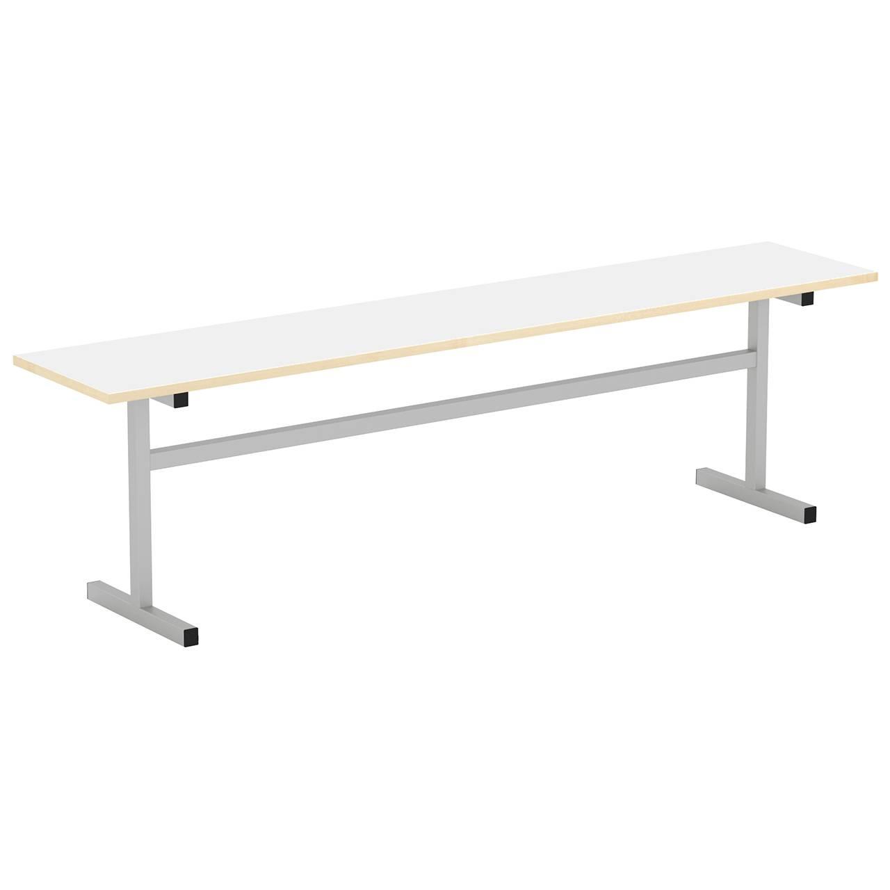 Скамейка 3-местная (гр. 5,6) серый Белый 6 Пластик