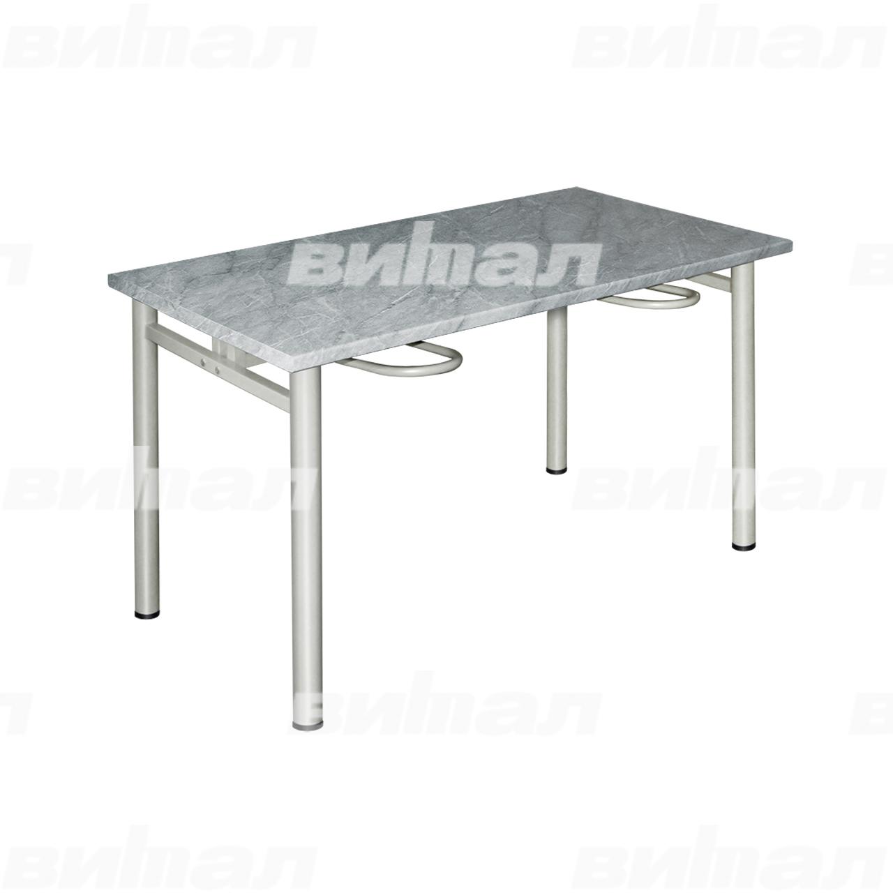 Стол обеденный четырехместный с универсальными кронштейнами