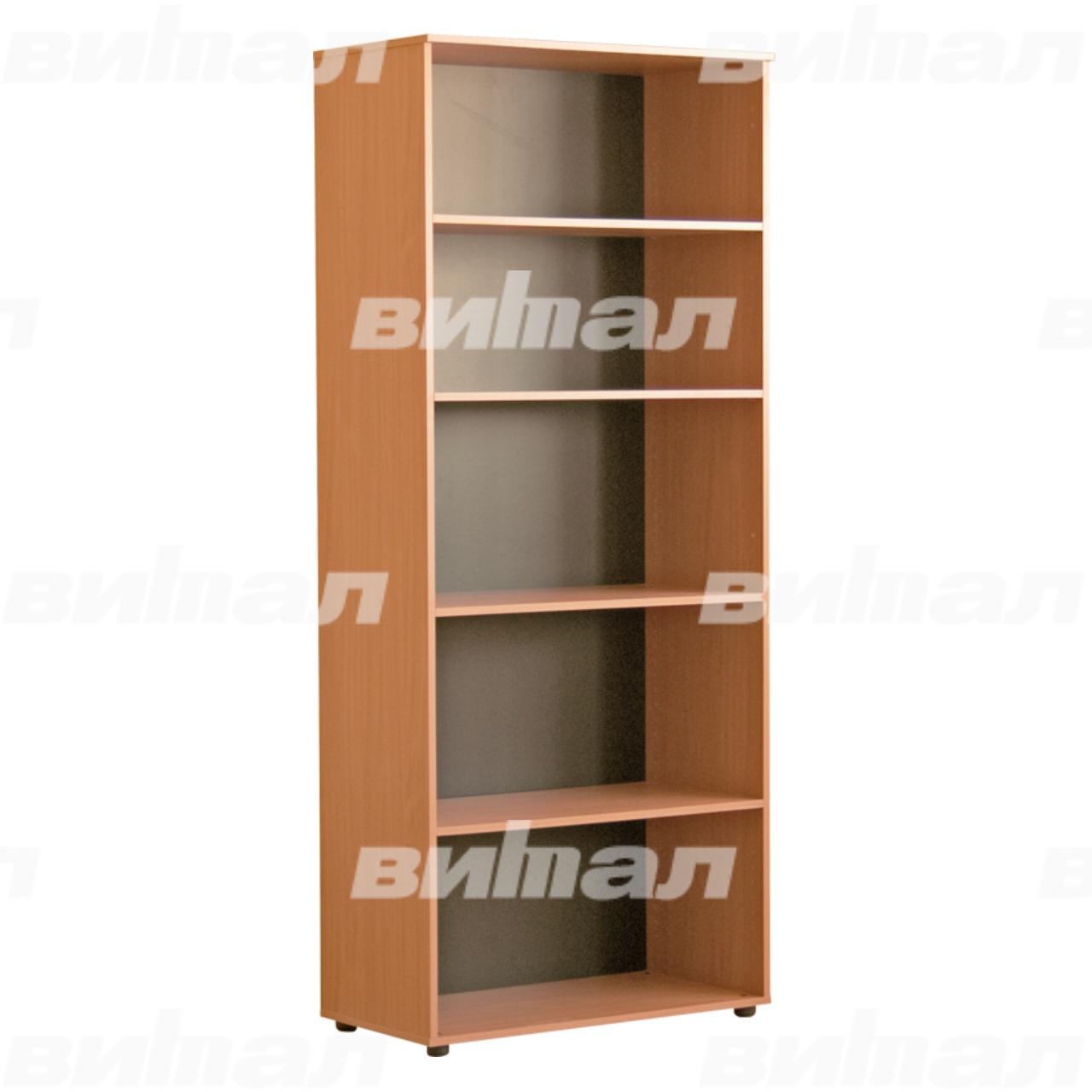Шкаф для документов «Директор» широкий открытый Бук-бавария Меламин