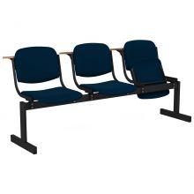3-местный, откидывающиеся сиденья, мягкий, лекционный