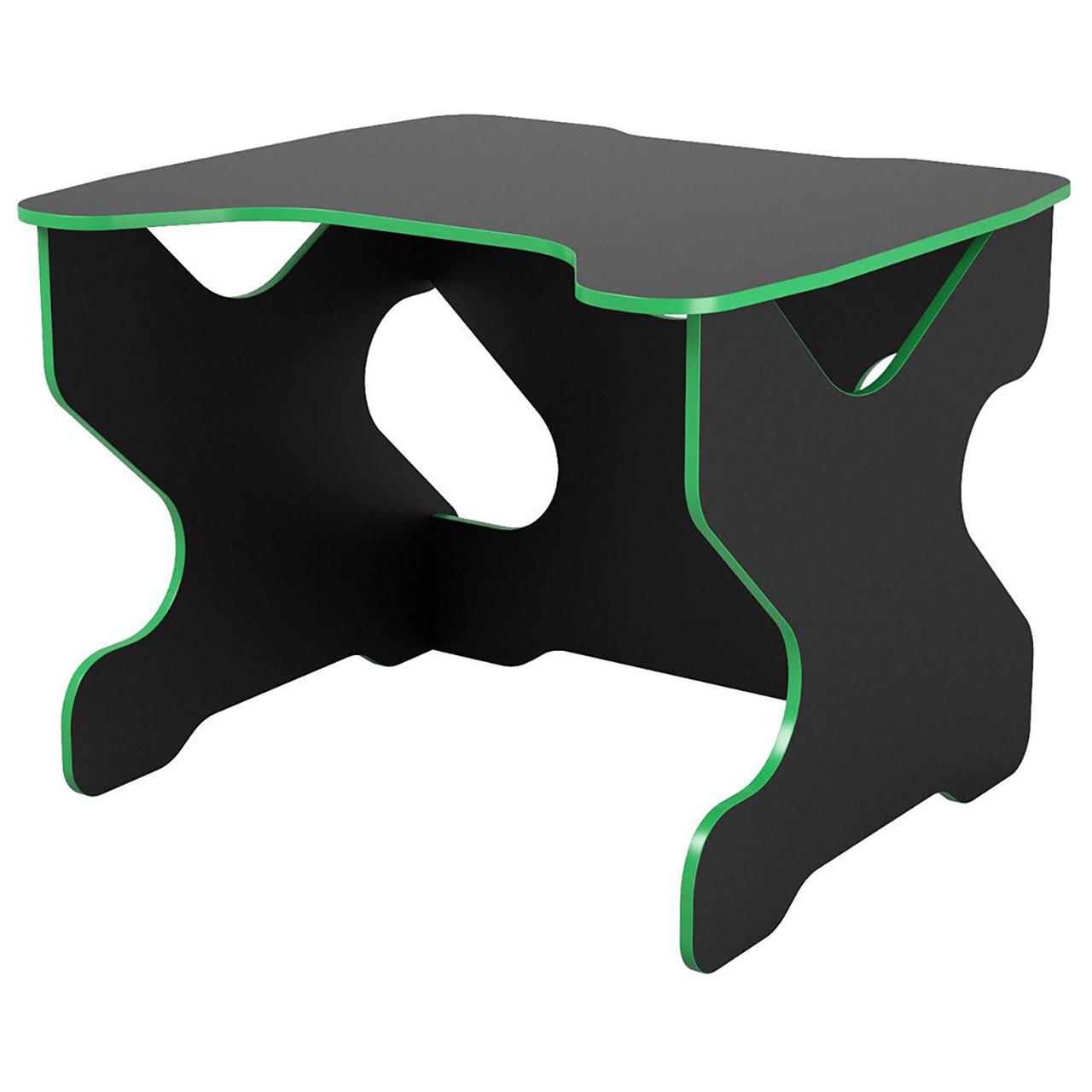 Компьютерный стол Ивент Зелёный/Черный