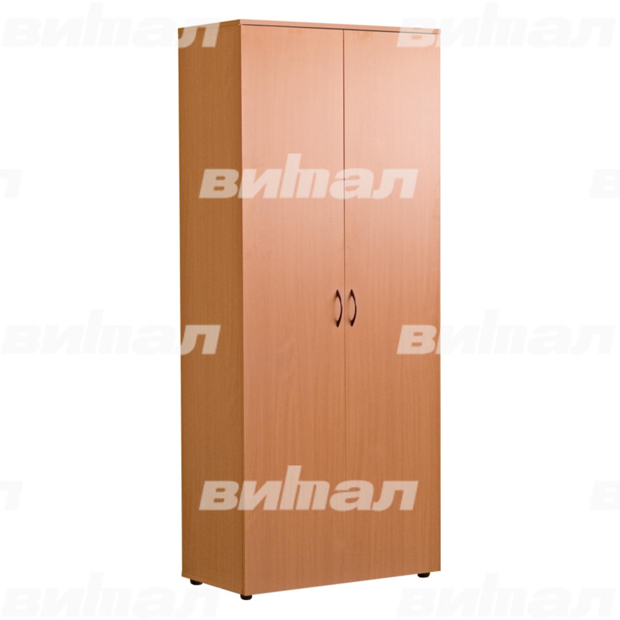 Шкаф для документов «Директор» широкий закрытый Бук-бавария Меламин