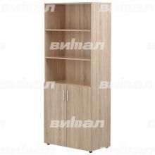 Шкаф для документов «Директор» широкий полуоткрытый