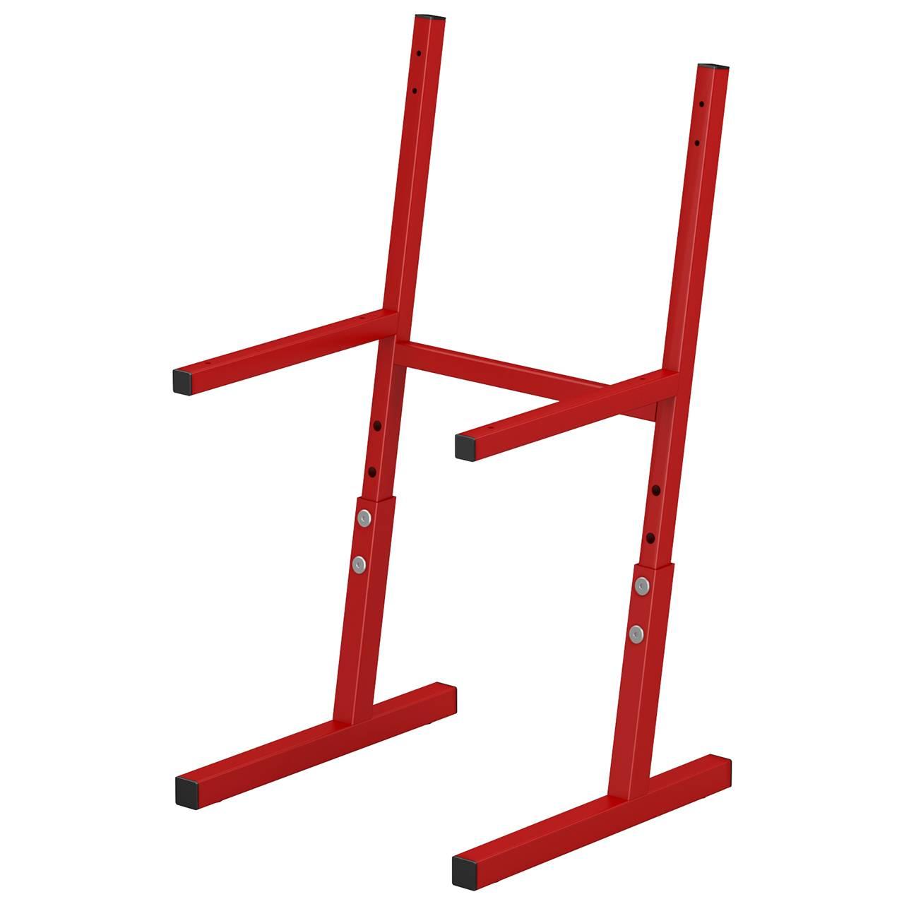 Металлокаркас стула ученического (гр. 3-5, 4-6) красный 4-6