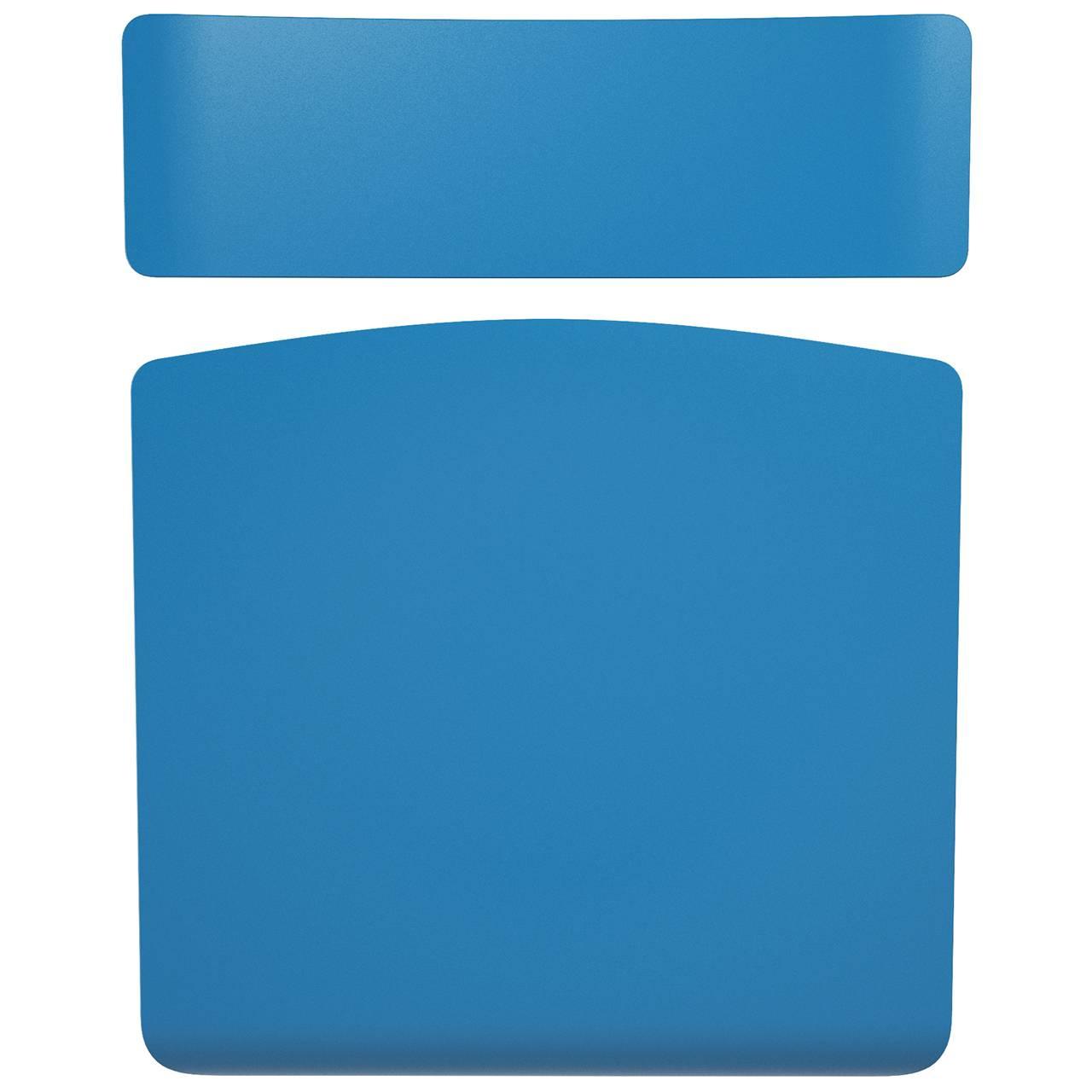 Комплект сиденье+спинка синий
