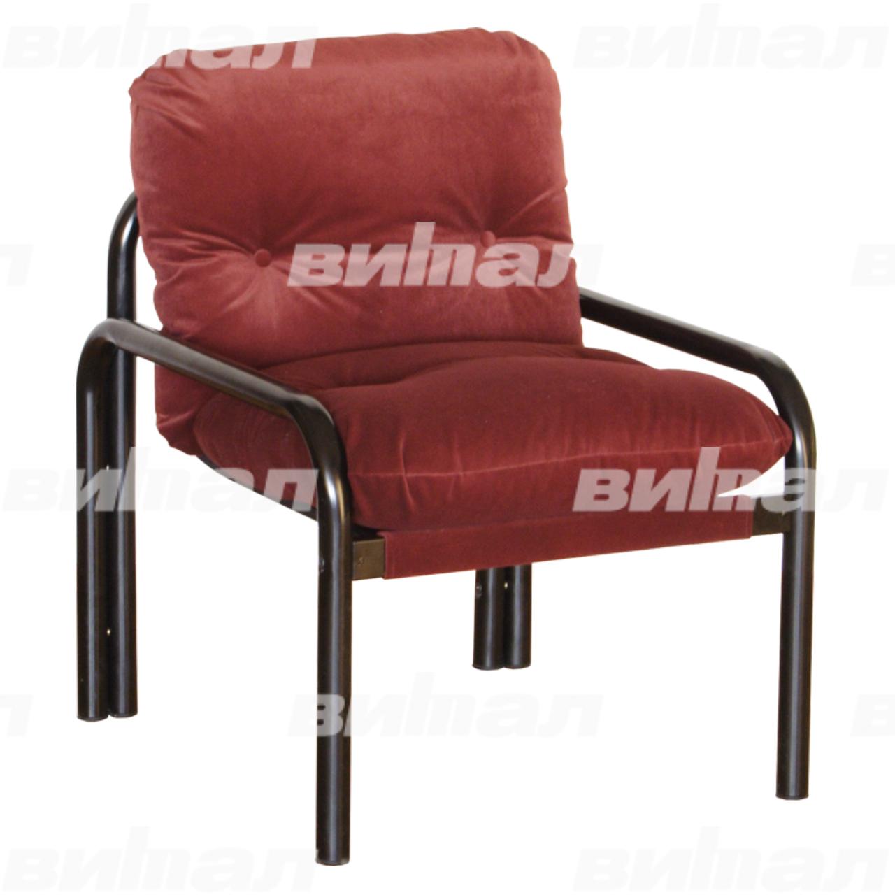 Кресло на круглой трубе