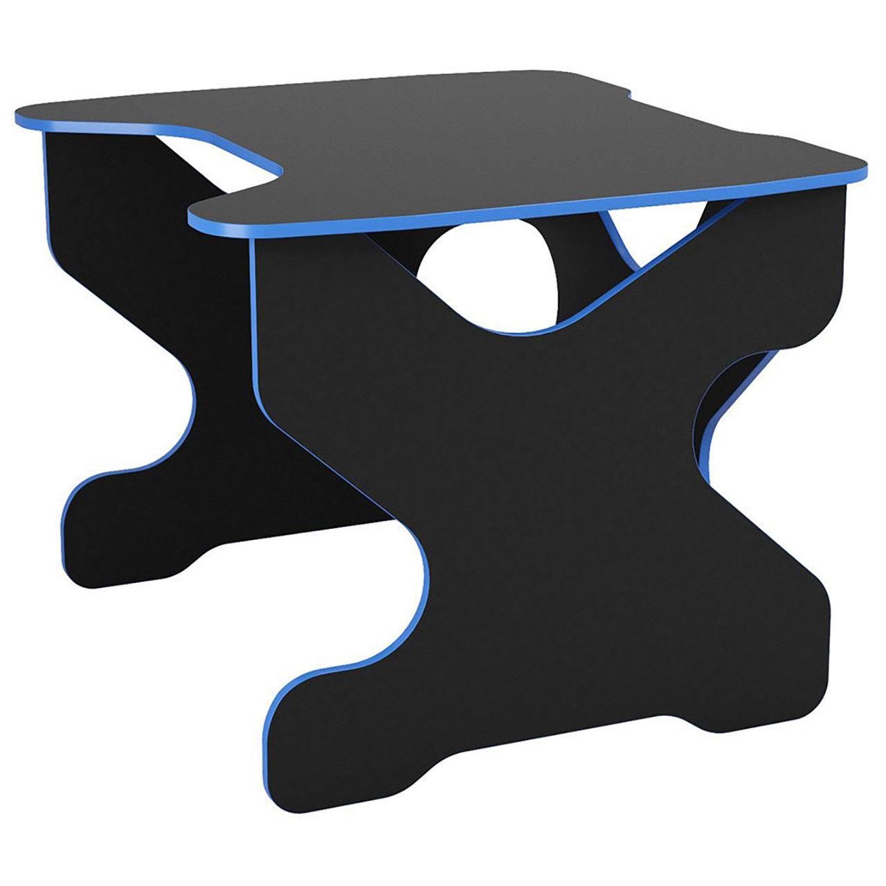 Компьютерный стол Ивент Синий/Черный