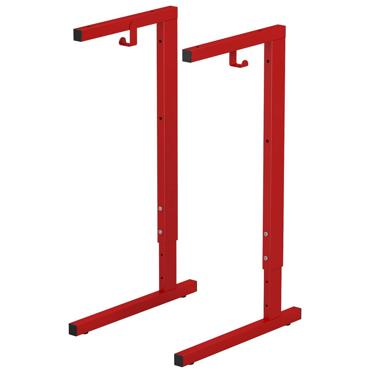 Металлокаркас стола ученического (гр. 3-5, 4-6) красный 4-6