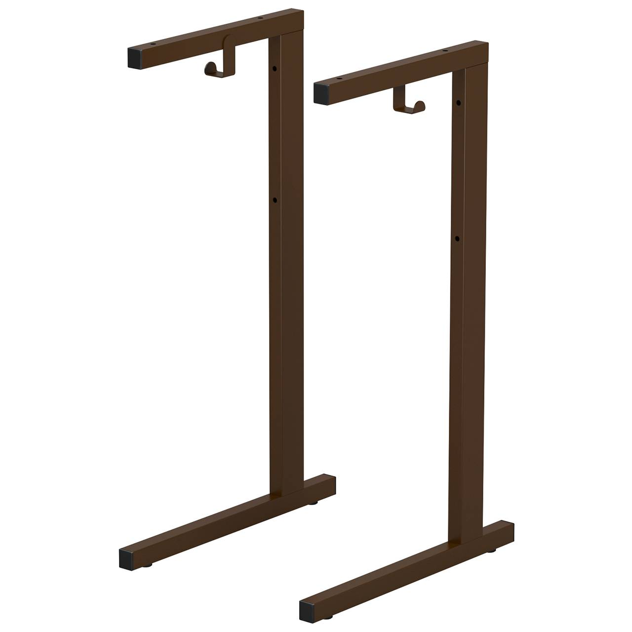 Металлокаркас стола ученического (гр. 6) коричневый 6