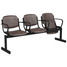 3-местный, откидывающиеся сиденья, мягкий, подлокотники